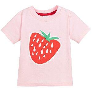 Camiseta Manga Curta Morango - Blade and Rose