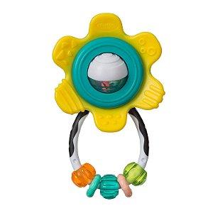 Chocalho Mordedor Interativo Flor - Infantino