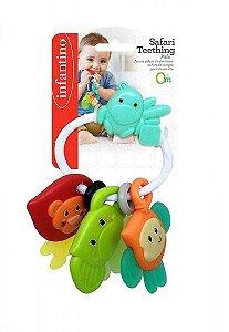 Chocalho Mordedor Safari - Infantino