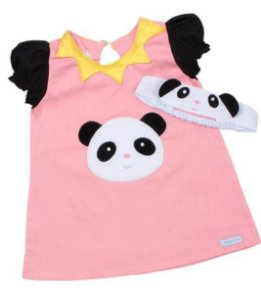 Vestido Metoo Jimbao Panda - Metoo