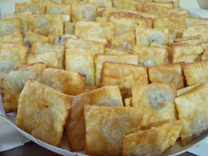 Pastel - Recheio Carne -100 Unidades