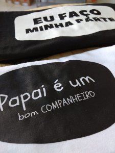 DIA DOS PAIS - Camiseta Infantil