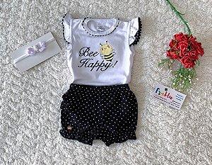 Boddy + short Anjos baby