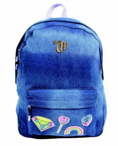 Mochila Capricho Patches Customizavel - 11010