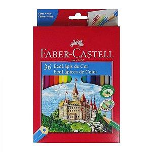 Lápis De Cor Faber-castell 36 Cores Ecolapis