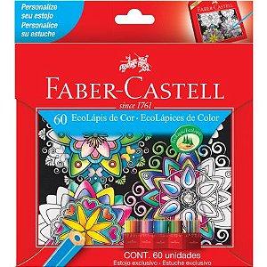 Lápis De Cor Faber-castell 60 Cores Ecolapis