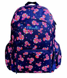 Mochila Minnie Floral Costas