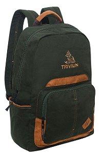 Mochila Notebook Verde Triviun Masculina
