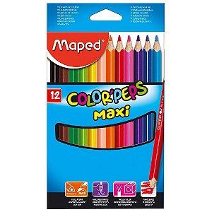 Lápis de Cor 12 cores Maped
