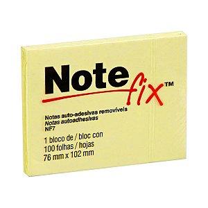 Bloco Adesivo 76x102mm Notefix Amarelo pct com 100 folhas 3M