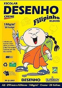 BLOCO FILIPINHO 140g/m² CREME