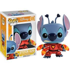 Boneco Funko Pop Lilo E Stitch - Stitch Nº125
