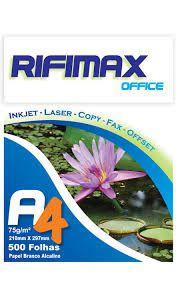 Pacote 500 folhas sulfite Rifimax