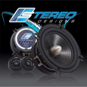 "Stereo Designs Kit 2 Vias 5"" SDS5-S1 Mid Bass / Tweeter Neo = 150W RMS"