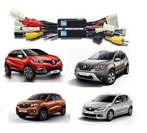 Interface Desbloqueio de Tela Familia Renault / Kwid / Capitor / Sandero / Duster / Logan / Oroch / Com Media NAV . Faaftech FT VF RN