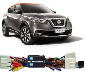Interface Desbloqueio De Tela Nissan Kicks 2017 A 2019 Faaftech FT VF NS4