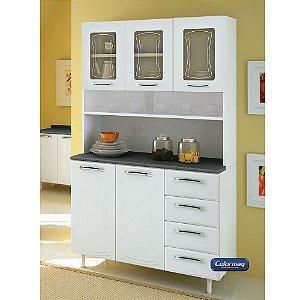 Kit de Cozinha Colormaq 6 Portas Ipanema K6P em Aço Branco