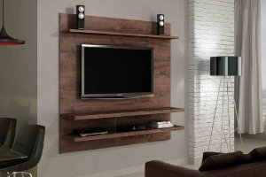 Painel Home Suspenso para TV até 50 Polegadas Apolo 160 Valdemóveis - Gratis Suporte de TV