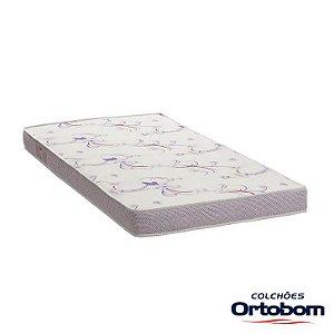 Colchão Physical Resistente Liso - Ortobom - 0,88 x 1,88 x 0,12