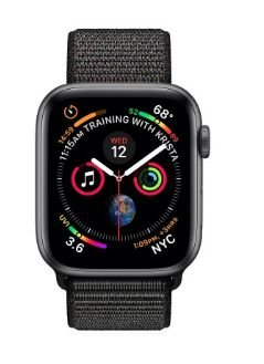 Watch Series 4 40mm Caixa Preto de Alumínio com Pulseira Loop