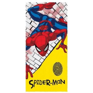 Toalha Felpuda de Banho Estampada Spider Man 2 - 60 cm x 1,20 m