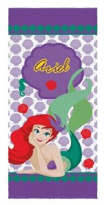 Toalha Banho Infantil Princesas - Ariel