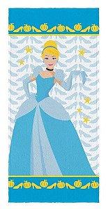 Toalha Banho Infantil Princesas - Cinderela