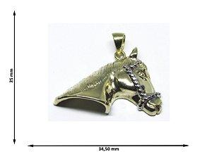 Pingente Cabeça de Cavalo 1/2 3D