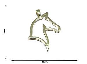 Pingente Cabeça de Cavalo Vazada