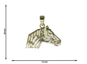 Pingente Cabeça de Cavalo Crioulo