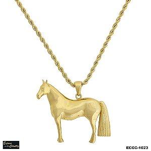Colar  Cavalo Crioulo 3D