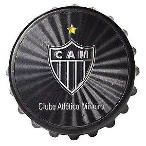 Abridor de Garrafa com Imã Atlético MG