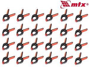 Grampo Plastico Multiuso para Marceneiro 4 Pol. 24un MTX