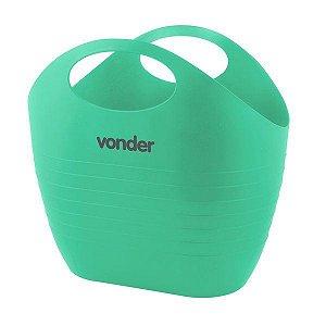 Bolsa Plástica Verde Multiuso para Ferramentas 8,5 Litros Vonder