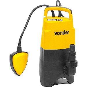 Bomba D'água Submersa BSV 450W 127V Vonder para Drenagem e Transferência de Água
