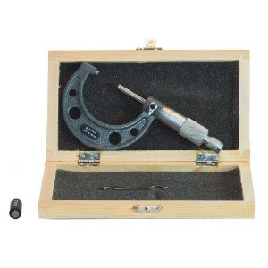 Micrômetro Externo com Abertura 25-50mm Leitura 0,01mm Eda