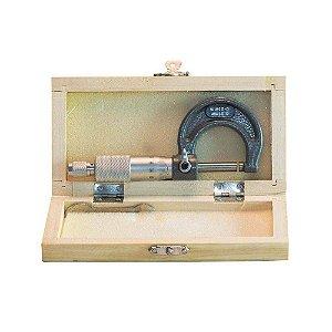 Micrômetro Externo com Abertura 0-25mm Leitura 0,01mm Eda