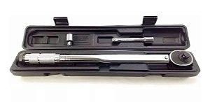 Torquímetro de Estalo Encaixe 1/2 ou 3/8 Escala Dupla 20kgf Eda