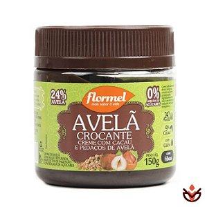 c4acd6fdc Creme de Avelã com Cacau Crocante com Pedaços de Avelã 150g - Flormel