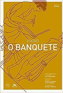 Livro O Banquete - Platão - Edição Bilíngue - Tradução de Jaa Torrano e Irley Fernandes Franco