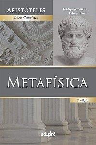 Livro Metafísica - Aristóteles - Tradução de Edson Bini