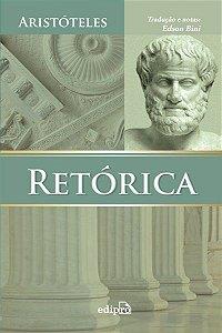 Livro Retórica - Aristóteles - Tradução de Edson Bini