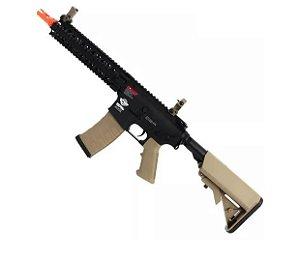 Fuzil Rifle Arma de Airsoft Elétrica G&G CM18 Mod 1