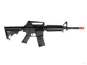 Fuzil Rifle Arma de Airsoft Elétrica ICS M4A1 Carbine