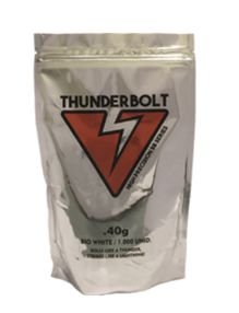 Muniçao Bbs Thunderbolt high precision series 0.40g - Refil 1000un - Branca