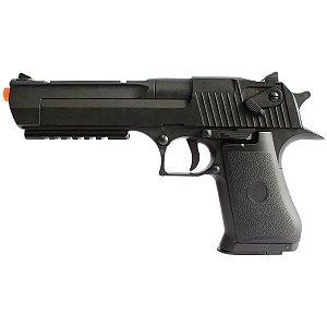 Pistola Arma de Airsoft AEP Elétrica Cyma CM 121 Desert Eagle .50