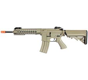 Fuzil Rifle Arma de Airsoft Elétrica Cyma CM 515 Desert Tan