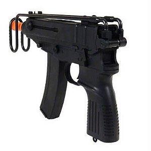 Fuzil Rifle Arma de Airsoft Elétrica JG Works Skorpion V61
