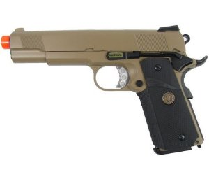 GBB WE 1911 MEU Tan Full Metal
