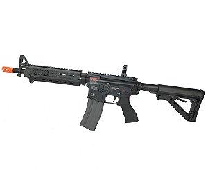 Fuzil Rifle Arma de Airsoft Elétrica G&G CM16 Mod 0